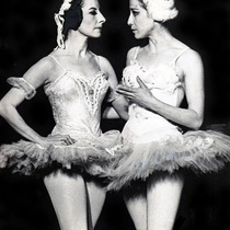 Alicia Alonso and Maya Plisetskaya