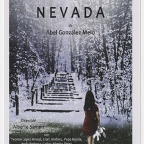 "Advertising postcard for the production, ""Nevada"""
