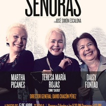 "Poster for the production, ""Señoras"" (2013)"