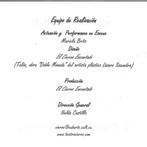 Program for the theatrical prodution, Cubalandia (Miami)