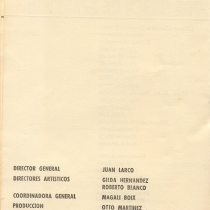 "Program for the production, ""Aire frío"""