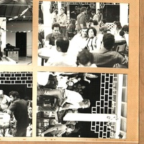 Photographs of the shooting of the film Como la Vida Misma at the Escambray