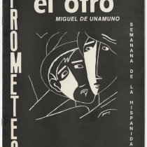 "Program for the production, ""El otro"" (The other)"