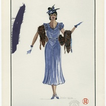 "Costume Design for Bessie, ""Rita and Bessie"""