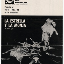 "Program for the production, ""La estrella y la monja"""