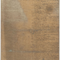 Manuscript for the theatrical production, Prometeo