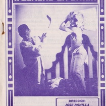 "Poster for the production, ""Week-End en Bahía"""