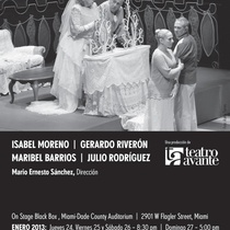 "Flyer for the production, ""El no"""