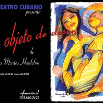 "Postcard for the production, ""Un objeto de deseo"""
