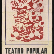 "Program for the production, ""De ayer te cuento y de hoy te canto"" (Teatro Popular Latinoamericano)"
