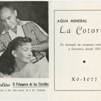 "Program for the production, ""Espíritu maligno"""