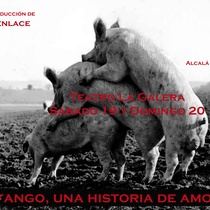 "Flyer of the Production, ""Fango"" (Alcalá de Henares)"