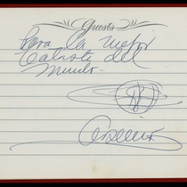 Guestbook, 1974
