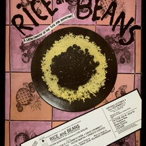 "Poster for play, ""Rice and Beans"""