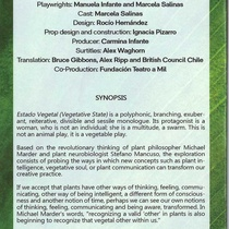 "Program for the production, ""Estado vegetal"""