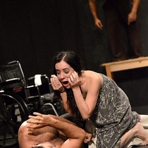 "Photographs of a rehearsal, ""Fango"" (Miami)"