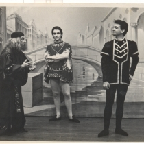 "Scene from the production, ""El mercader de Venecia"""