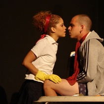 "Photograph of the production, ""Electra Garrigó"" (Havana, 2008)"