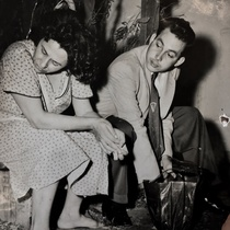 Photograph of the production, La rosa tatuada