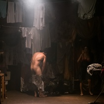 "Photographs of the production, ""Fango"" (Miami)"