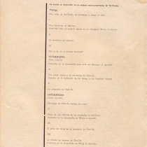 "Program for the production, ""El alma buena de Se-Chuan"""
