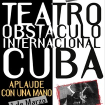 "Poster for the productions, ""Cuarta Pared II"" and ""Aplaude con una mano"""
