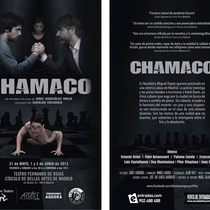 "Postcard for the production, ""Chamaco"""