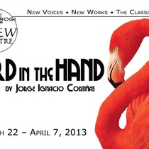 "Poster for the production ""Bird in the Hand"""