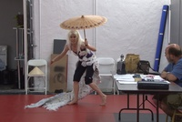 Link to video of If You're Going to Pull a Knife, USAlo - Rehearsal with Elizabeth Doud
