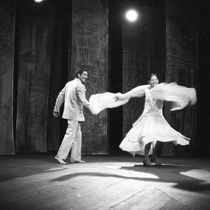 Photographs of the theatrical production, El baile