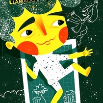 Poster for the theatrical production, retrato de un niño llamado Pablo