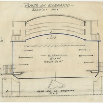 Stage floor plan