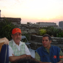 Photograph of Roberto Gacio and Reinaldo Montero