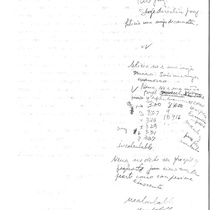 María Irene Fornés handwritten note about Leticia and Nena
