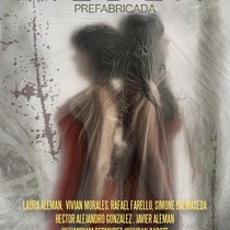Poster for the theatrical production, Medea prefabricada