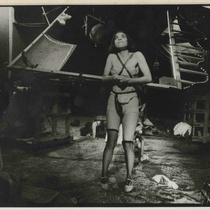 "Photograph of Barbara Barrientos in the production, ""Opera ciega"""