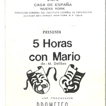 "Program for the production, ""5 horas con Mario"""