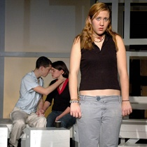 "Photographs of a dress rehearsal, ""Luna Park"""