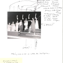 "Photograph of the production, ""Calígula"""
