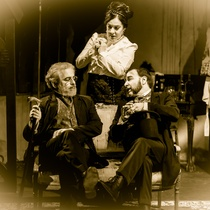 "Photograph of the Production, ""La noche de las tríbadas"""