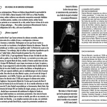 "Program for the production, ""María Estuardo o La estrella de su nombre se quemó"""