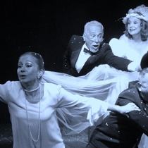 "Maribel Barrios, Julio Rodríguez, Gerardo RIverón, Isabel Moreno in ""El No"""
