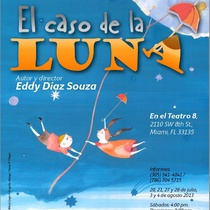 "Postcard for the production, ""El caso de la luna"""