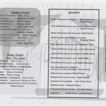 "Program for the production ""El inspector"""