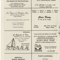 "Program for the production, ""Picnic"""