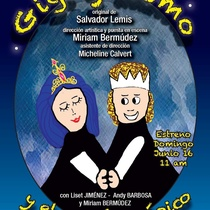"Poster for the production ""Gigi y Momo"" in Miami"