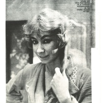 "Photograph of Myriam Acevedo in the production, ""La ramera respetuosa"" (Havana, 1960)"