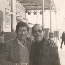 Abelardo Estorino and José Triana