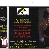 Postcard for Miami Globo Theater