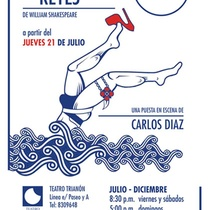 "Flyer for the production, ""Noche de reyes"""